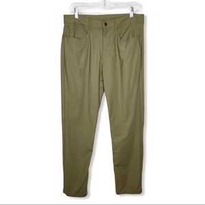 SWISS TECH / taupe green utility outdoor pants
